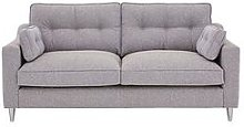 Rufus Fabric 3 Seater Sofa