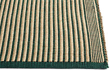Rug - / 200 x 80 cm - Cotton & jute by Hay Green