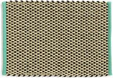 Rug - / Jute & wool - 50 x 70 cm by Hay Beige