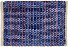 Rug - / Jute & wool - 50 x 70 cm by Hay Blue
