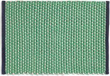 Rug - / Jute & wool - 50 x 70 cm by Hay Green
