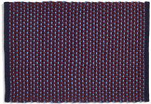 Rug - / Jute & wool - 50 x 70 cm by Hay Purple