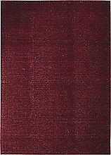 Rug, 120 cm x 170 cm, Dark Red