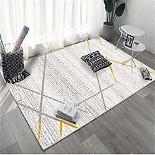 Rug area rugs for living room Cream gray yellow