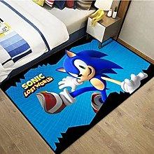 Rug Carpet Cartoon Cartoon Sonic Hedgehog