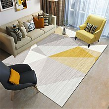 Rug carpet tiles for stairs Gray yellow white