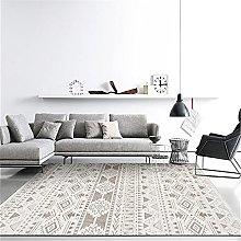 Rug childrens rug Khaki Grey Moroccan Geometric