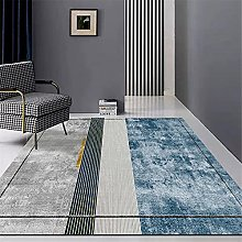Rug childrens rugs for playroom Blue gray simple