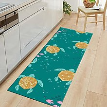 Rug Color Rectangle Simple Style Short Pile Carpet