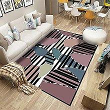 Rug fireside rugs for living room Black gray
