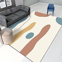 Rug For Bedroom Bedroom Rugs Yellow blue abstract