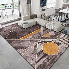 rug for bedroom Brown Rectangular Carpet Living