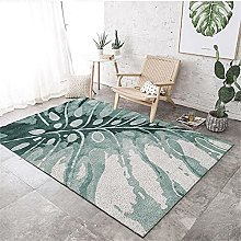 Rug For Bedroom Fireside Rugs Green leaf pattern