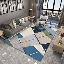 rug for bedroom Geometric Color Matching Carpet