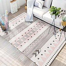 rug for bedroom Girl's Room Carpet Pink
