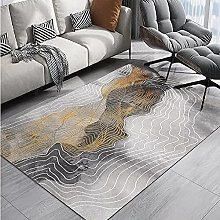 rug for bedroom Gray Abstract Carpet Living Room