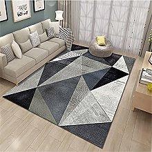 rug for bedroom Gray Carpet Low Velvet Stain