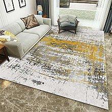 rug for bedroom Gray Short-Pile Carpet Living Room