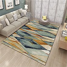 rug for bedroom Green Brown Carpet Abstract Living