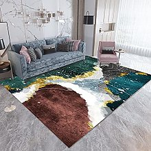 Rug For Bedroom Kitchen Rugs Green brown modern