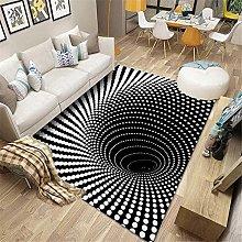 Rug for bedRoom Living Room carpet 3D whirlpool