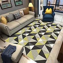 rug for bedroom Living room carpet gray and yellow