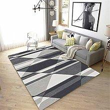 rug for bedroom Living room carpet gray square