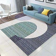 rug for bedroom Living Room Carpet Green Blue