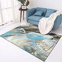 rug for bedroom Living room rug blue vintage stone