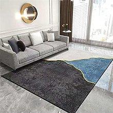 Rug For Bedroom Rug Small Black gray blue carpet