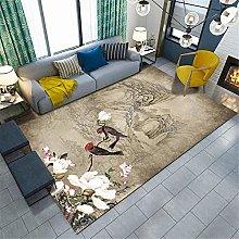 Rug For Bedroom Rug Underlay Retro oriental carpet