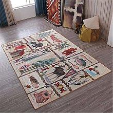 Rug For Bedroom Vintage Life Main Pattern