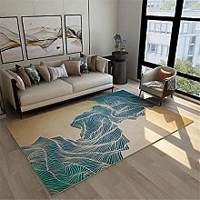 Rug For Bedrooms Simple Abstract Stain Resistant