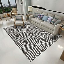 Rug For Bedrooms Simple Geometric Stripes