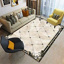 Rug For Bedrooms Vintage Marble Border Traditional