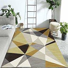Rug For Girls Bedroom Modern Soft Geometric Art