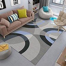 rug for kitchen Gray carpet, geometric pattern