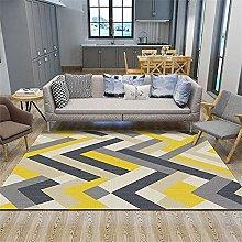 rug for kitchen Yellow carpet, convenient floor