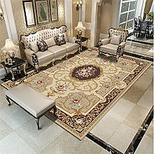 rug for kitchen Yellow carpet, moisture-proof,