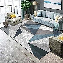 Rug For Living Room Bedroom Rug Gray Blue