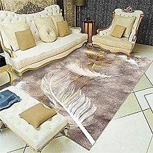 rug for living room Brown rectangular carpet boy