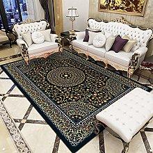 Rug For Living Room Carpet Bedroom Yellow blue