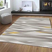 rug for living room Gray carpet, diamond pattern