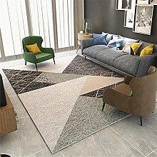 rug for living room Gray Geometric Carpet Bedroom