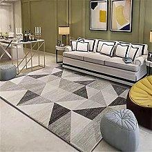 rug for living room Gray rectangular carpet