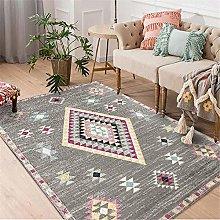 rug for living room Gray Rectangular Carpet Living