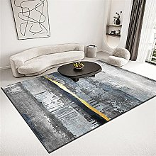rug for living room Gray Rectangular Rug Living