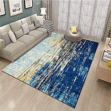 rug for living room large Blue Rug Rectangular