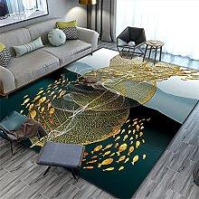 Rug For Living Room Large Floor Mat Green Carpet