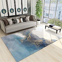 Rug For Living Room Large Minimalist Abstract Wavy